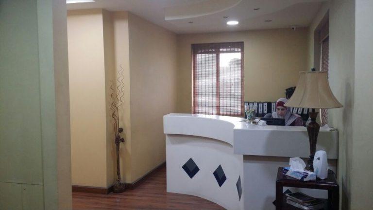 عيادة عمان للعيون الاستقبال